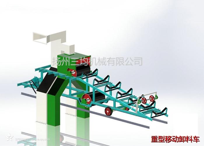 重型移动卸料车